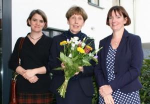 Foto vlnr: Dr. Nicola Pfeil, Eija Ellen Juers, Heike Steinbach-Thormaehlen
